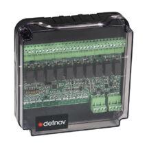 Detnov MAD-419-I intelligens vezérlőmodul 10 kimenettel izolátorral
