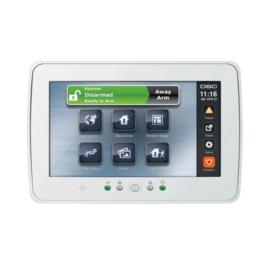 """DSC PTK5507 érintőképernyős kezelő, 7"""", programozás,  kezelés"""