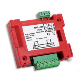 Detnov MAD-481 intelligens 230VAC relés modul