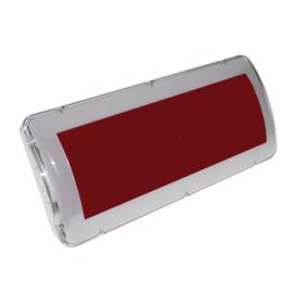 Detnov RCOD-500 (DOA FJ/CPD) jelzőtábla beépített hangjelzővel 24V/DC CPR EN54-3