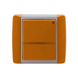 Enika P8 T 2 Element 07 Karamell felületre szerelhető jeladó (1041483)