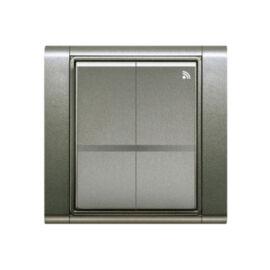Enika P8 T 4 Time 34 Antracit felületre szerelhető jeladó (1041513)