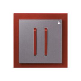 Enika P8 T 4 Neo 71 Acél szürke / Terrakotta felületre szerelhető jeladó (1043536)