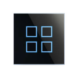 Enika P8 T 4 iS B Fekete felületre szerelhető jeladó (1051151)