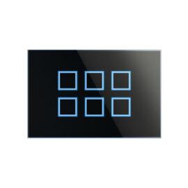 Enika P8 T 6 iR B Fekete felületre szerelhető jeladó (1051154)