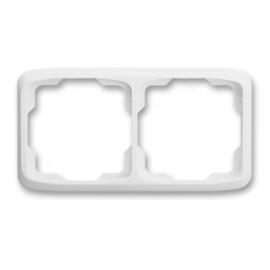 ABB kapcsoló keret 2-es vízszintes Tango Fehér (3901A-B20 B)