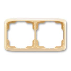 ABB kapcsoló keret 2-es vízszintes Tango Csontfehér (3901A-B20 C)