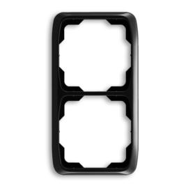 ABB kapcsoló keret 2-es függőleges Tango Fekete (3901A-B21 N)