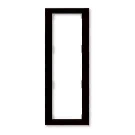 ABB kapcsoló keret 3-as függőleges Arbo Wenge (3901F-A50131 54)