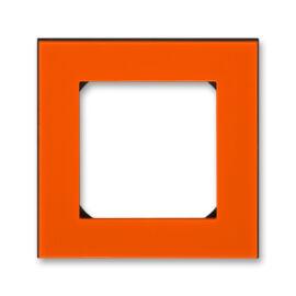 ABB kapcsoló keret 1-es Levit Narancs / Fekete (3901H-A05010 66)