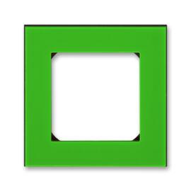 ABB kapcsoló keret 1-es Levit Zöld / Fekete (3901H-A05010 67)
