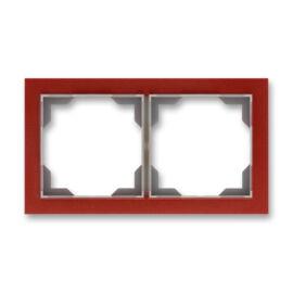 ABB kapcsoló keret 2-es vízszintes Neo Terrakotta (3901M-A00120 35)