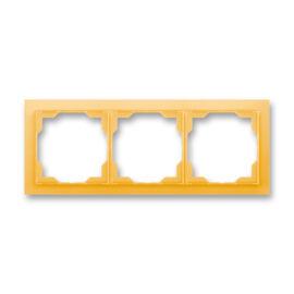 ABB kapcsoló keret 3-as vízszintes Neo Narancs (3901M-A00130 43)