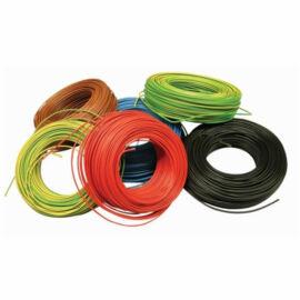 MCu vezeték (H07V-U) 1x2,5mm2 zöld-sárga