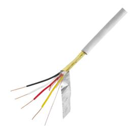 J-Y(St)Y 4x2x0,8 szürke távközlési illetve jelátviteli kábel