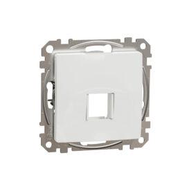 Schneider SDD111421 SEDNA 1xRJ45 adapter, Keystone betétekhez, fehér