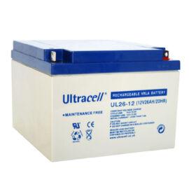 Ultracell akkumulátor UL 26-12 12V/26Ah