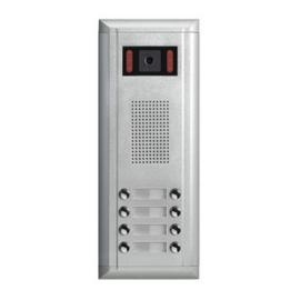 V-TEK DMR11S/D8/F1 kültéri kaputelefon 8 gombos, társasházi lakásokhoz