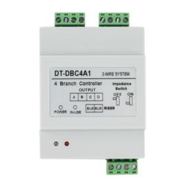 V-TEK DT-DBC4A szint elosztó, többlakásos rendszerhez, 4 be,- ki menetettel