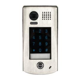V-TEK DT601/KP-C kültéri kaputelefon beépített kamerával, felület szerelt, fémházas kivitel IP54, kódzáras