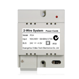 V-TEK PC4 rendszer tápegység/buszillesztő