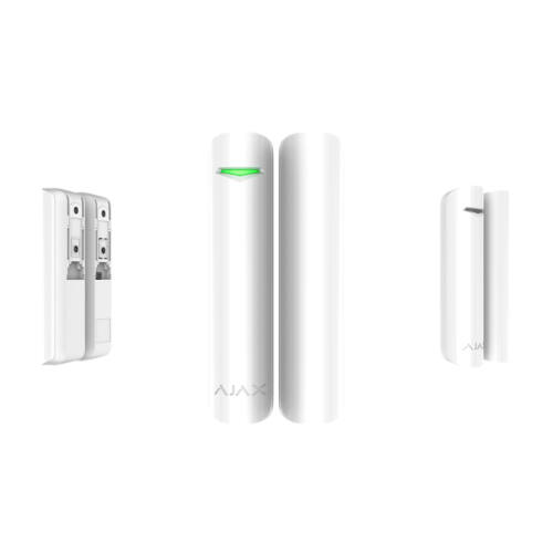 AJAX DoorProtect Plus WH vezeték nélküli nyitásérzékelő fehér