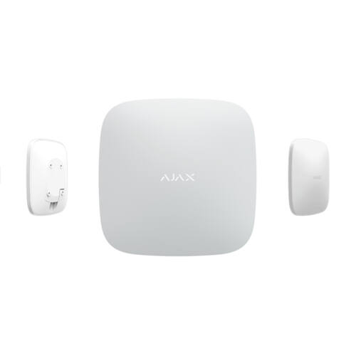 AJAX HUB Plus WH vezeték nélküli központi egység fehér