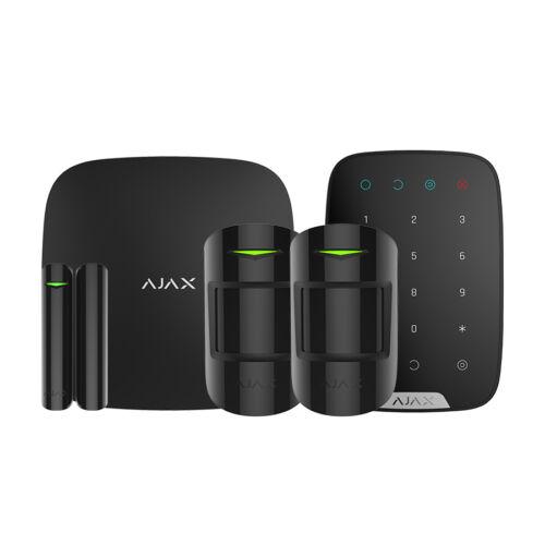 AJAX Keypad szett BL /1 HUB, 2 MotionProtect, 1 DoorProtect, 1 Keypad/