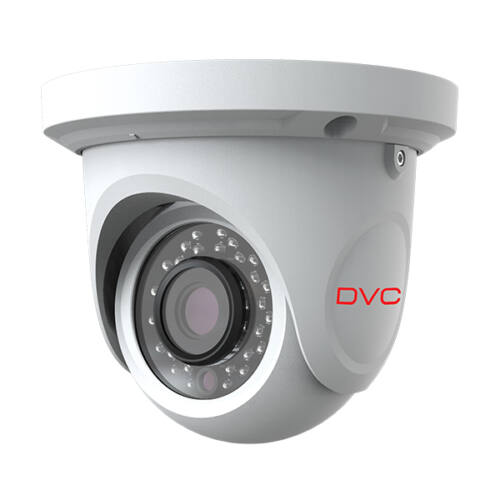 DVC DCA-VF524 AHD IR dome kamera 1080p fix 2,8mm objektív, IP66