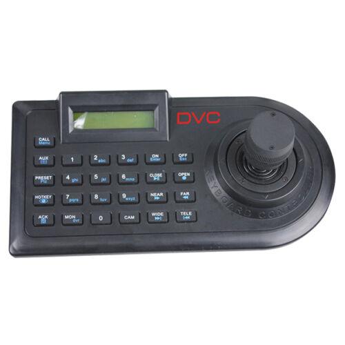 DVC DKA-31R billentyűzet PTZ kamerákhoz 3D joystick-el LCD kijelzővel