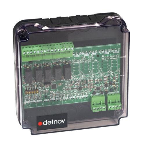 Detnov MAD-415-I intelligens vezérlőmodul 5 kimenettel izolátorral