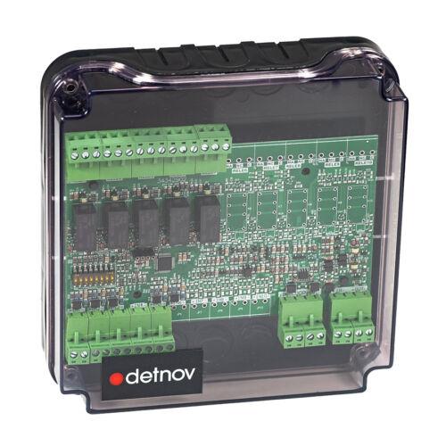 Detnov MAD-425-I intelligens vezérlőmodul 5 be- és 5 kimenettel izolátorral