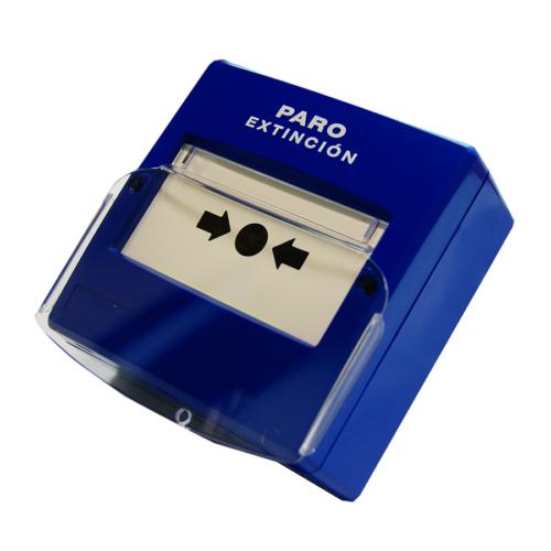 Detnov PPD-100 hagyományos kézi jelzésadó oltórendszerekhez, kék
