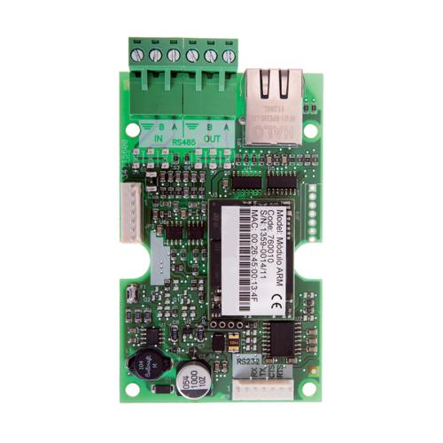 Detnov TETD-150 hálózati kártya RS485 hálózati kimenet, Ethernet átjáró kimenet