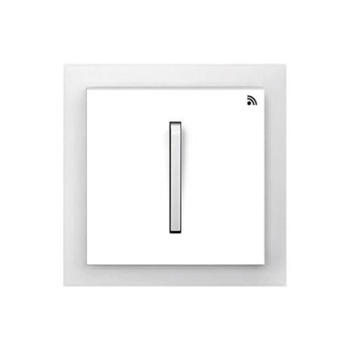 Enika P8 T 2 Neo 01 Fehér / Világos szürke felületre szerelhető jeladó (1041489)