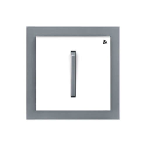 Enika P8 T 2 Neo 44 Fehér / Sötét szürke felületre szerelhető jeladó (1041491)