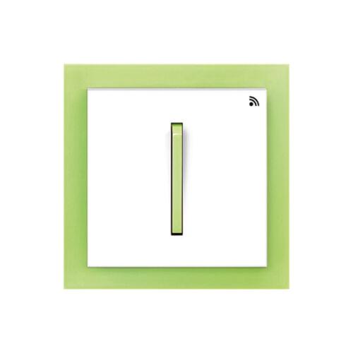 Enika P8 T 2 Neo 42 Fehér / Világos zöld felületre szerelhető jeladó (1041492)