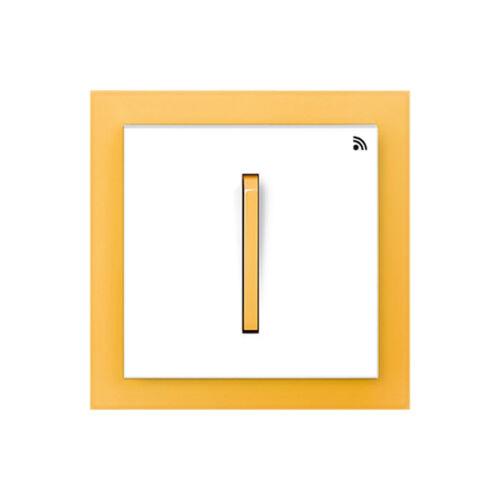 Enika P8 T 2 Neo 43 Fehér / Narancssárga felületre szerelhető jeladó (1041493)