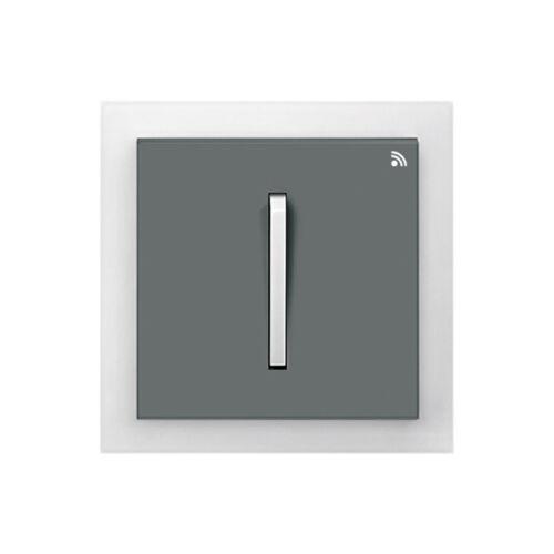 Enika P8 T 2 Neo 61 Grafit szürke / Világos szürke felületre szerelhető jeladó (1041494)