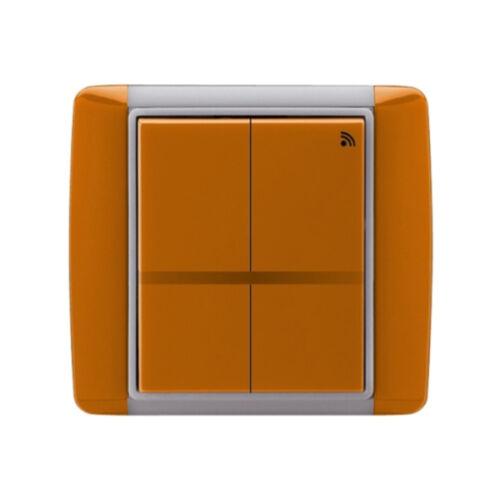 Enika P8 T 4 Element 07 Karamell felületre szerelhető jeladó (1041516)