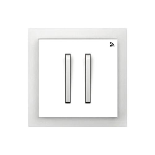 Enika P8 T 4 Neo 01 Fehér / Világos szürke felületre szerelhető jeladó (1041522)