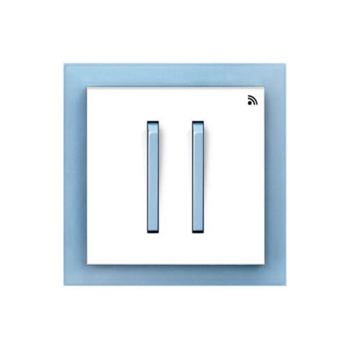 Enika P8 T 4 Neo 41 Fehér / Világos kék felületre szerelhető jeladó (1041523)