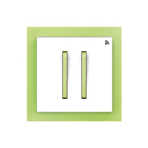 Enika P8 T 4 Neo 42 Fehér / Világos zöld felületre szerelhető jeladó (1041524)