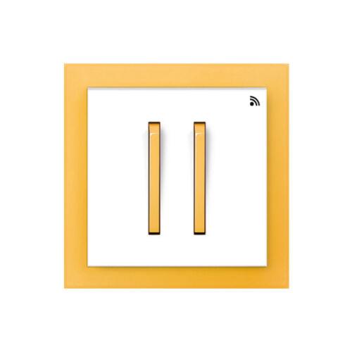 Enika P8 T 4 Neo 43 Fehér / Narancssárga felületre szerelhető jeladó (1041525)