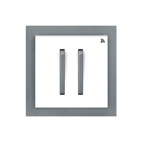 Enika P8 T 4 Neo 44 Fehér / Sötét szürke felületre szerelhető jeladó (1041526)
