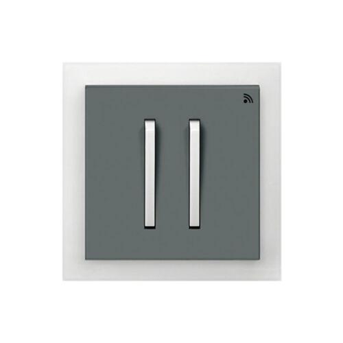 Enika P8 T 4 Neo 61 Grafit szürke / Világos szürke felületre szerelhető jeladó (1041527)