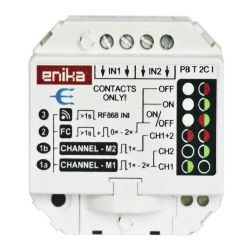 Enika P8 T 2C I bemeneti adattovábbító (1041535)