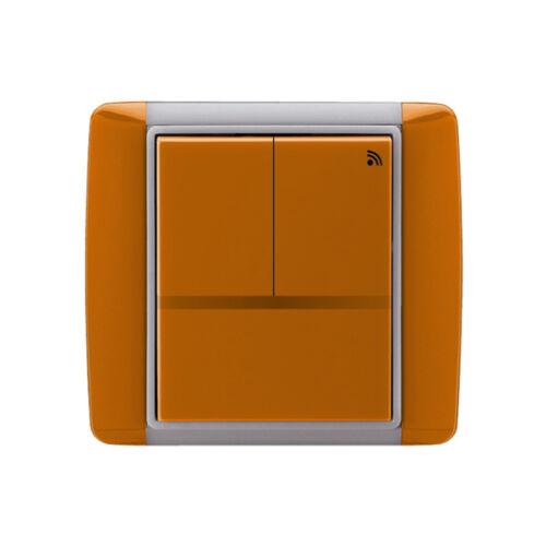 Enika P8 T 3 Element 07 Karamell felületre szerelhető jeladó (1042053)