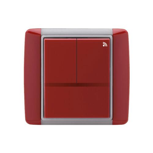Enika P8 T 3 Element 24 Kármin vörös felületre szerelhető jeladó (1042057)