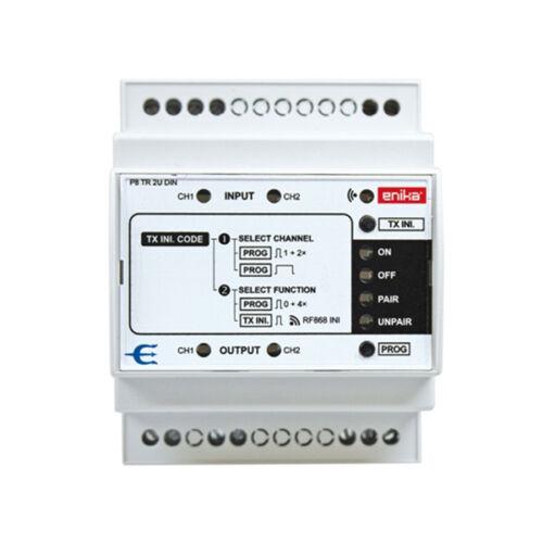 Enika P8 TR 2U DIN bemeneti adattovábbító (1042665)